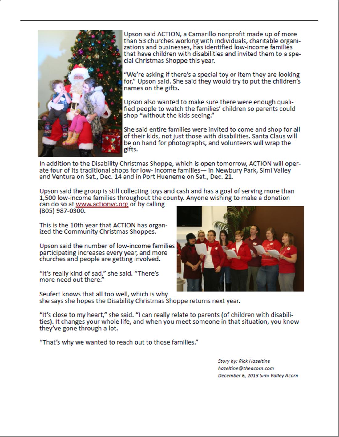 December Praise Report 2