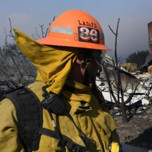 Fire Recovery Efforts